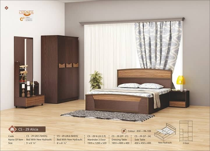 Make your bed room stylish with the luxury modular furniture