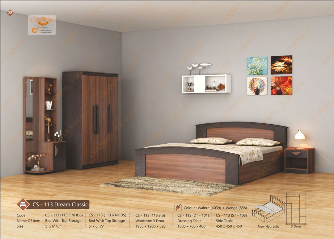 Browse through our amazing range of Bedroom Furniture designs.