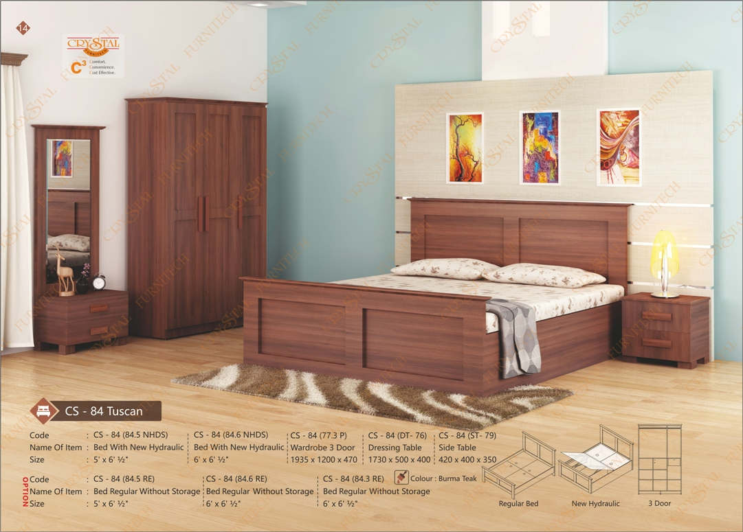 CS 84 Tuscan Bedroom Set