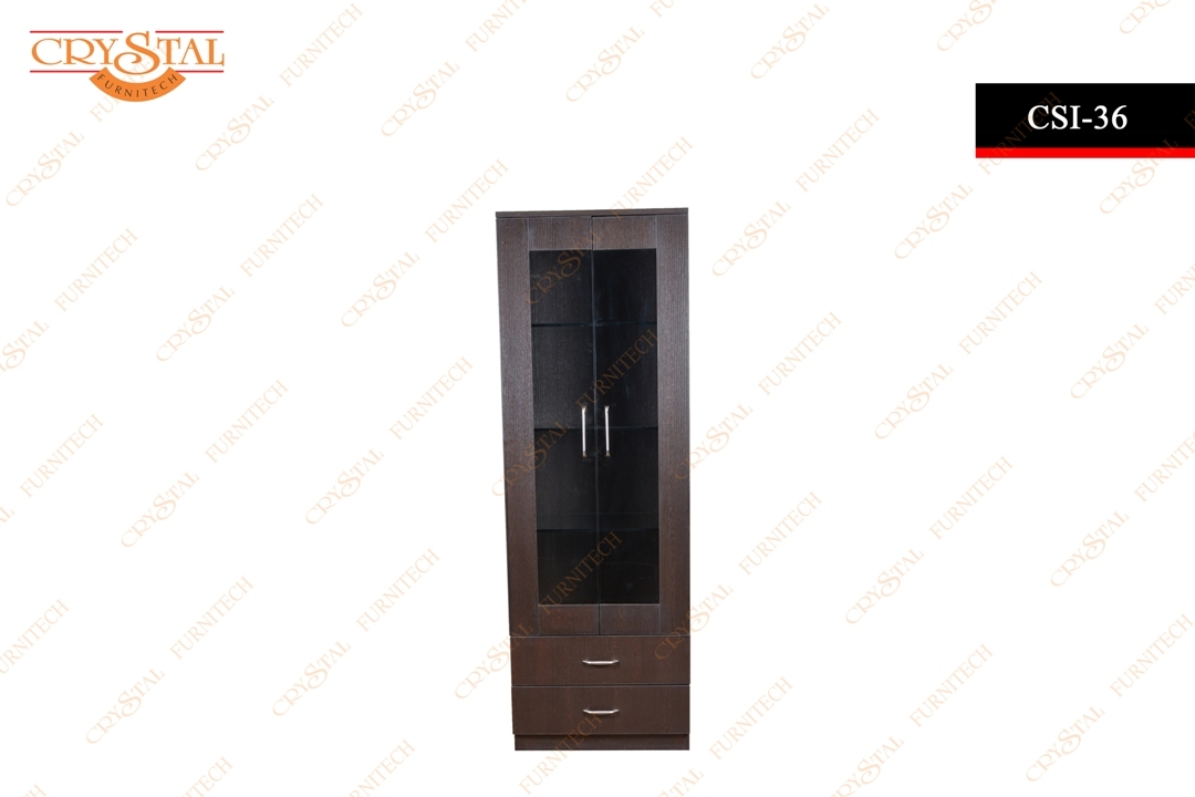Crockery Unit with Glass Shelf(CSI  36)