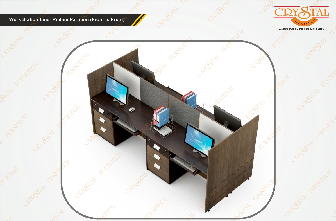 Work Station Liner Prelam Partition (Front to front)