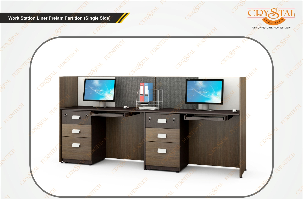 Work Station Liner Prelam Partition (single Side)