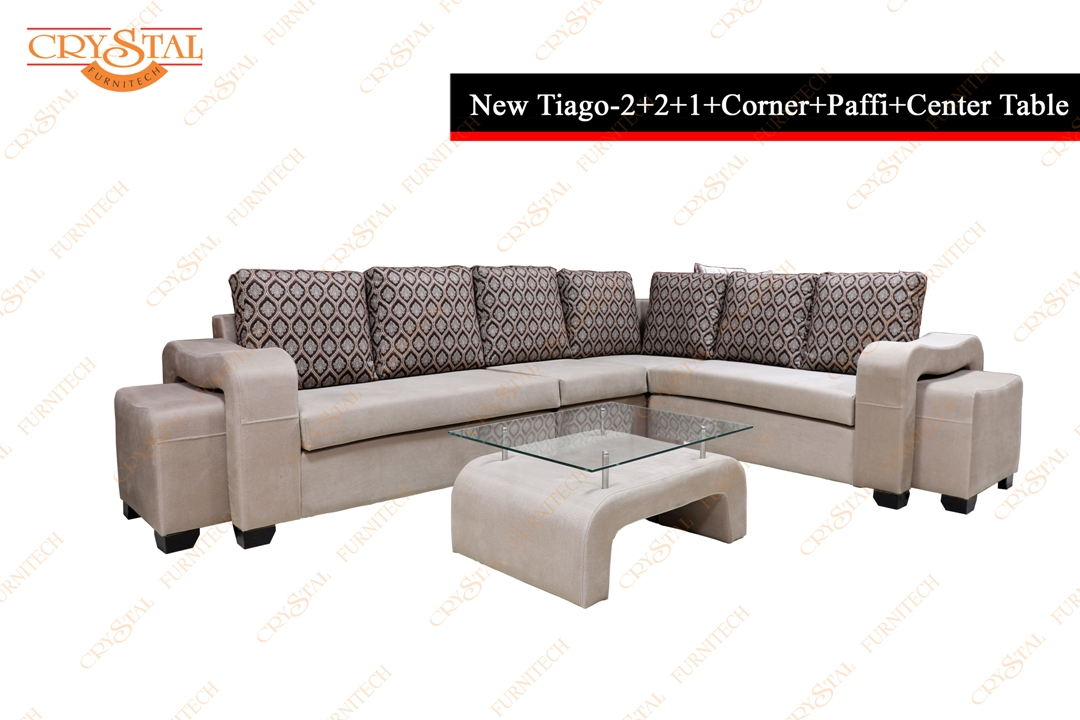 New Tiago   2+2+1+Corner+ paffi+Center Table
